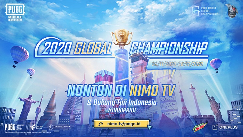 Nonton di Nimo TV dan Dukung Tim Indonesia Berlaga di PMGC 2020!