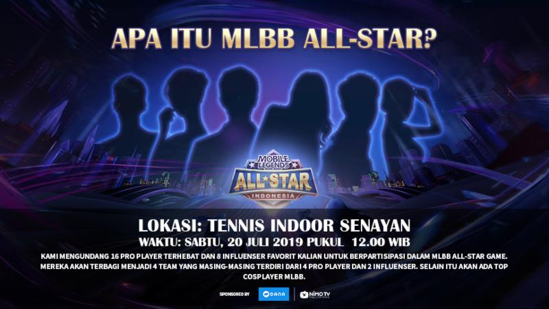 Satukan Bintang di Ajang MLBB All-Star, Pilih Jagoanmu!