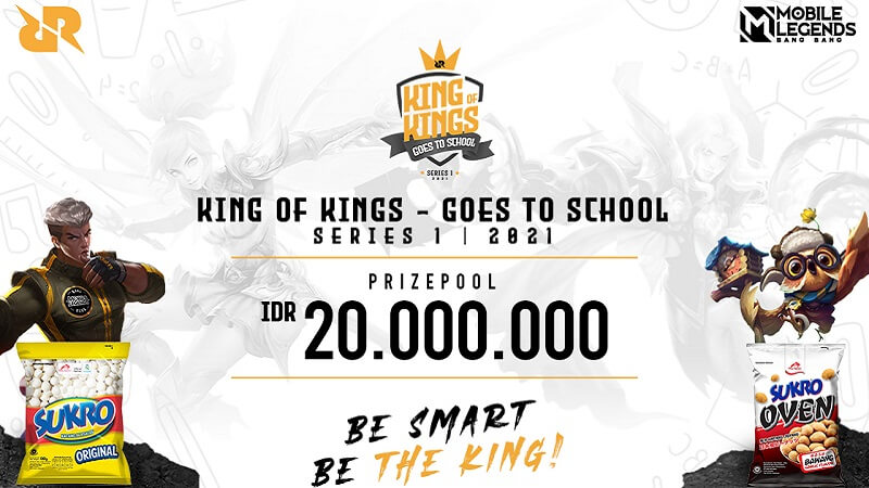 Jangkau Kalangan Pelajar, RRQ Kembali Gelar King of Kings Goes To School