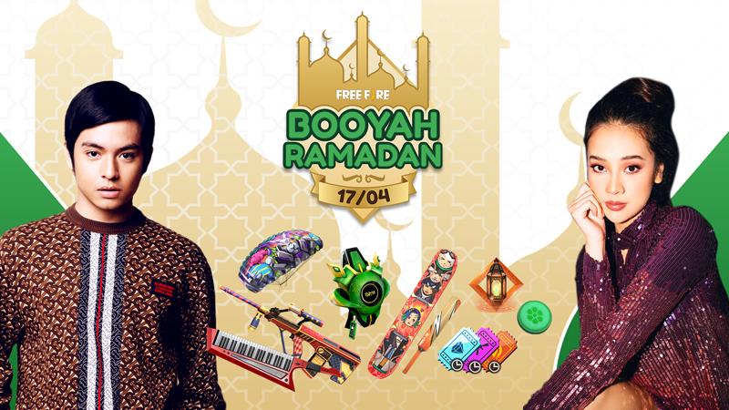 Booyah Ramadan, Main Free Fire Ditemani Anya Geraldine & Angga