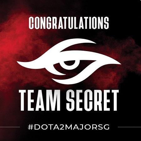 Team Secret Jadi Tim Pertama yang Lolos ke Singapore Major