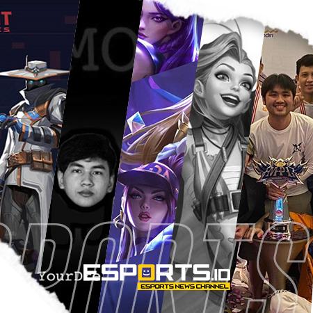 Gelar MPL RRQ & Kompetisi Resmi Valorant ID di Rekap Esports Pekan Ini!