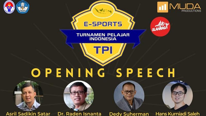 Turnamen Pelajar Indonesia Esports Resmi Dimulai!