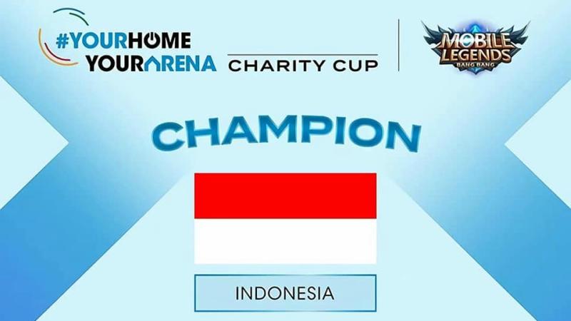 Indonesia Juarai AESF #YourHomeYourArena MLBB Charity Cup