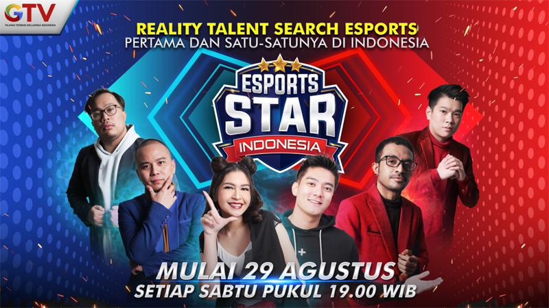 Esports Star Indonesia Dimulai, Saksikan Acaranya Tiap Sabtu di GTV!