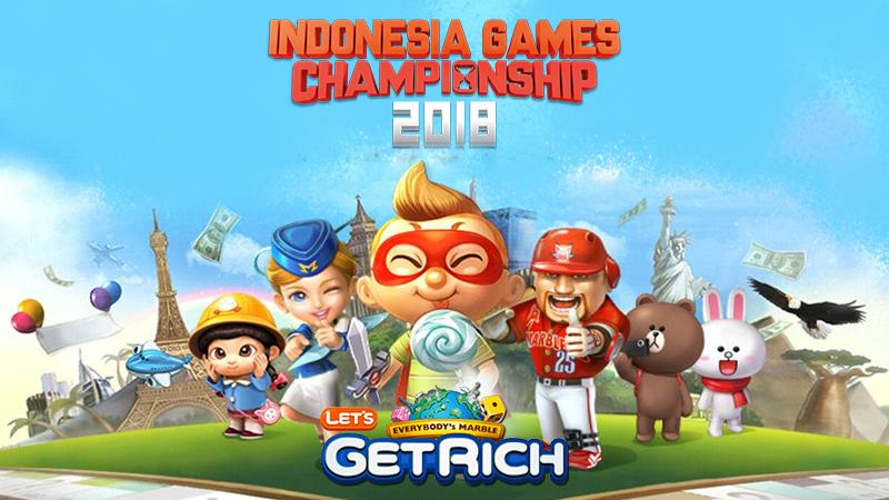 Dapat Keseruan & Banjir Giveaway dari LINE Let's GetRich Championship di IGC