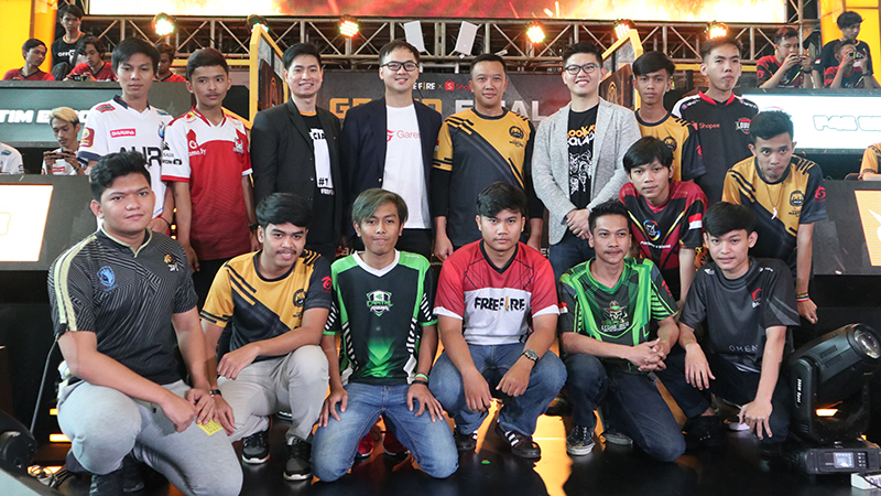 Esports Id Day 1 Free Fire Shopee Indonesia Masters 2019