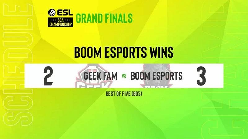 Indopride Berjaya! BOOM Esports Juarai ESL Sea Championship