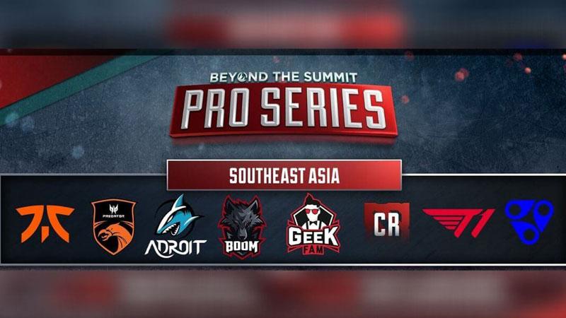 Laga Menentukan BOOM Esports VS Geek Fam di BTS Pro Series SEA