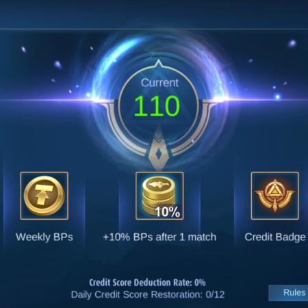 Bye-Bye Toxic, Ini Sistem Kredit Skor Baru di Mobile Legends!