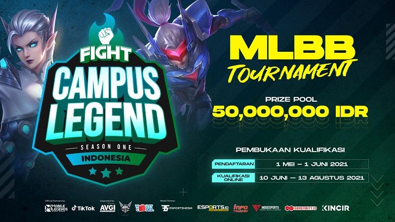 Turnamen FIGHT Campus Legend Resmi Dibuka, Prize Poolnya 50 Juta!