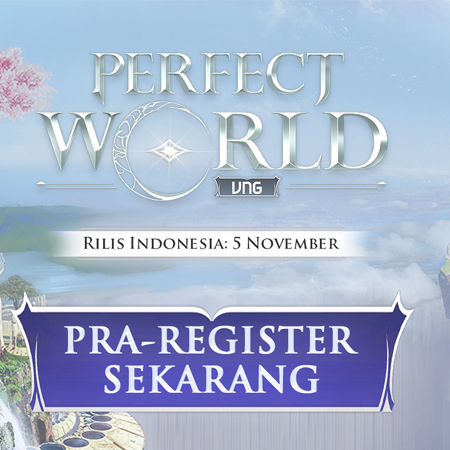 VNG Hadirkan Nostalgia Lewat Perfect World
