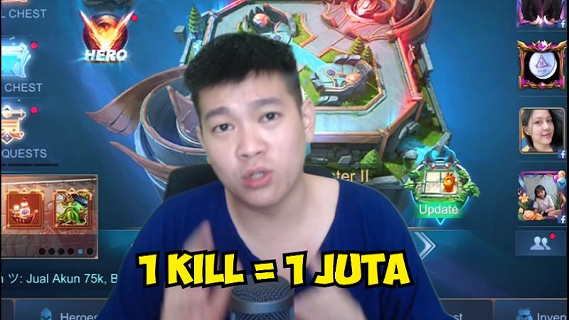 Satu Kill Satu Juta Rupiah, Donasi untuk Corona ala Emperor