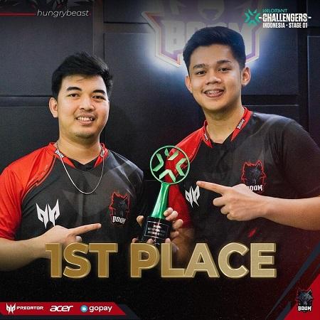 Kampiun Challengers 3, BOOM Esports Susul NXL ke Valorant Masters!
