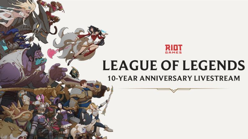 Riot Rayakan Ultah 10 Tahun LOL, Hadirkan Logo Baru!