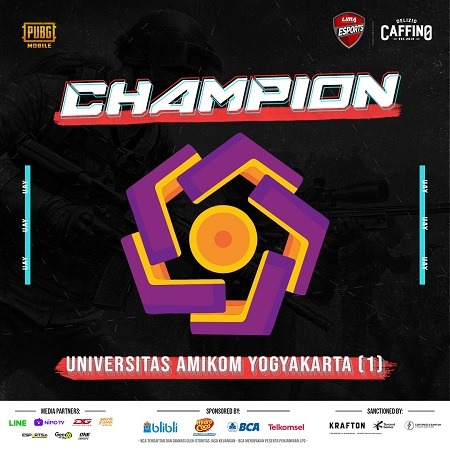 Amikom Yogyakarta Rajai LIMA Esports PUBG Mobile Eastern Region