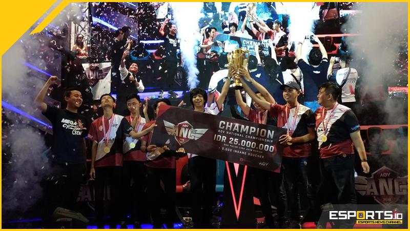 Berkat Konsistensi, SES VOCIKAMIL1 Bantai SGM dan Jadi Juara ANC 2018!