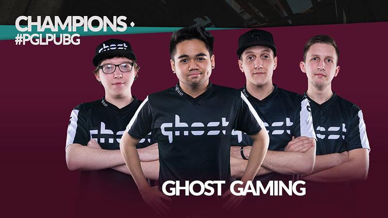 Beda Tipis, Ghost Gaming Perkasa di Major Perdana PUBG!