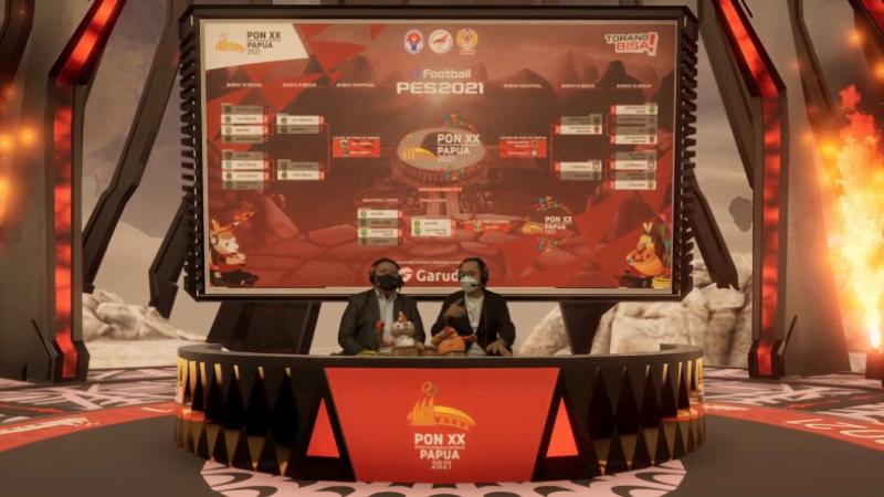 5 Provinsi Ini Lolos Ke PON XX Papua 2021 Untuk Cabang PES