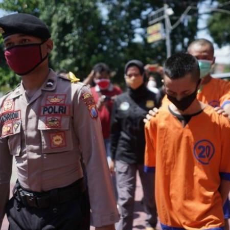 Dua Pemuda Ditangkap Gegara Nyabu Biar Kuat Push Rank