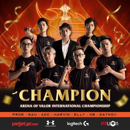 Team Flash Sukses Menjadi Juara AIC 2019