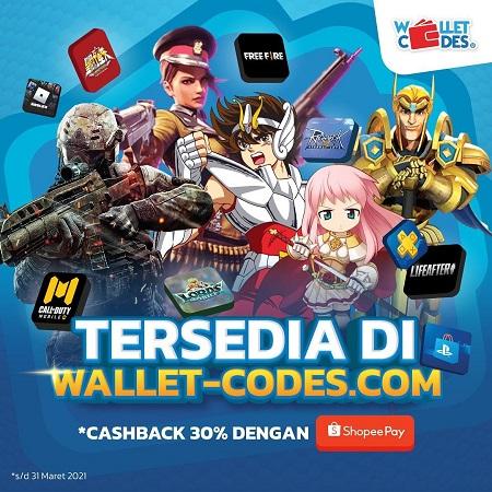 Manjakan Gamers, Wallet Codes Tambah 8 Layanan Produk Baru