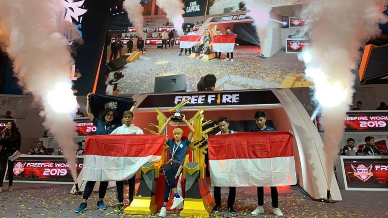 EVOS Capital Klaim Singgasana Free Fire World Cup 2019