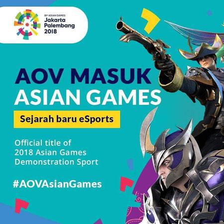 Pilih Sekarang! Ikut Voting Timnas AOV di Asian Games 2018