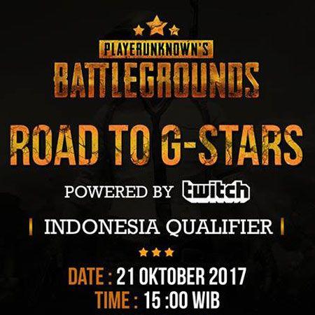 Road to G-Stars: Indonesia Qualifier, Main PUBG dan Pesiar ke Korea