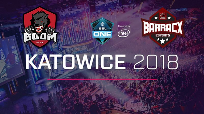 Perjuangan BOOM.ID dan PG.BarracX di ESL One Katowice SEA Qualifier
