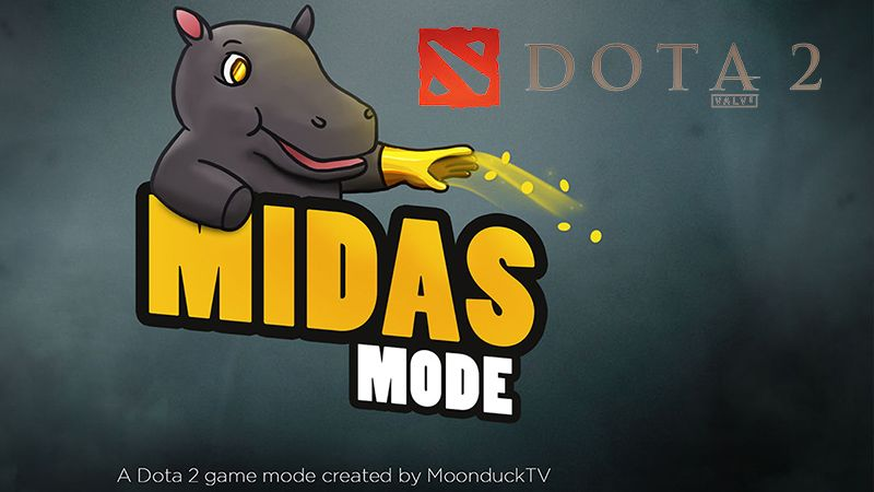 Turnamen DOTA 2 Berkonsep Unik, 'Midas Mode' Debut Bulan November