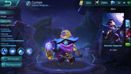 Cyclops mobile legend