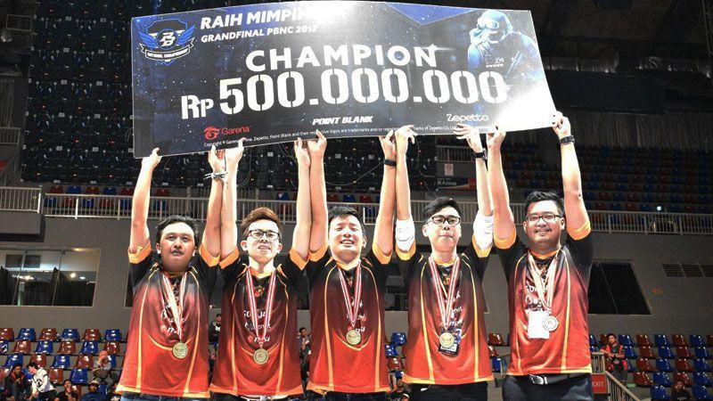 PBNC 2017: Raih Gelar Juara, RRQ Kantongi 500 Juta dan Tiket ke PBIC