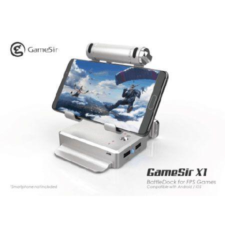 GameSir X1 BattleDock, Sensasi Game FPS ala PC di Smartphone!