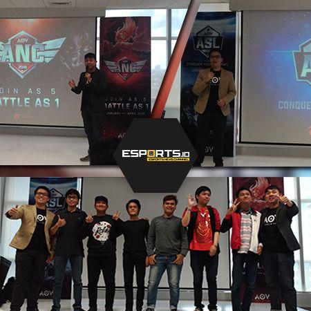 ASL 2018, Jenjang Pro Gamer AOV yang Suguhkan Hadiah 1,6 Milyar