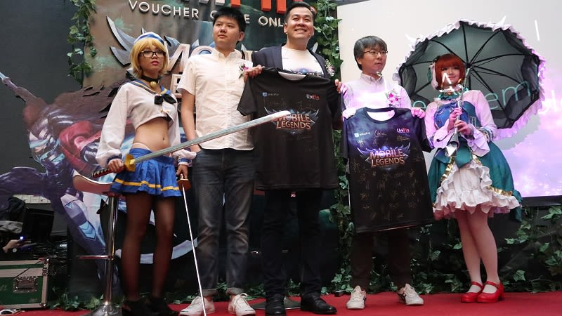 Assemble of the Legends, Pererat Kerjasama UniPin dan Moonton