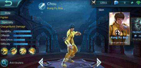 Pukul dan Tendang Musuh dengan Jeet Kune Do dari Chou mobile legends