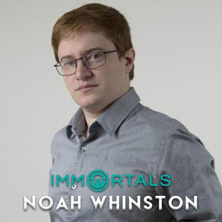 Noah Whinston, Sosok CEO Muda Inspiratif Dibalik Tim Immortals