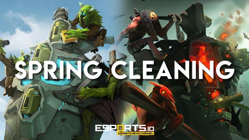 Spring Cleaning 2018, Formula Baru 'Cicilan' Update DOTA 2 Secara Berkala