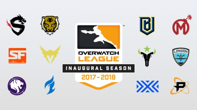 Deretan Perusahaan Besar Pendukung Tim Peserta Overwatch League