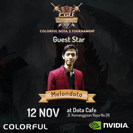 Colorful DOTA 2 Tournament: Rebut Kesempatan Wakili Indonesia ke Cina