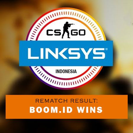 Akhiri Kekisruhan, REMATCH Linksys CS:GO Dimenangkan BoomID