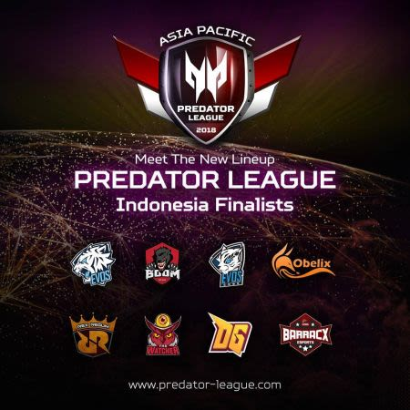 Menanti Kiprah Tim Indonesia di APAC Acer Predator League 2018