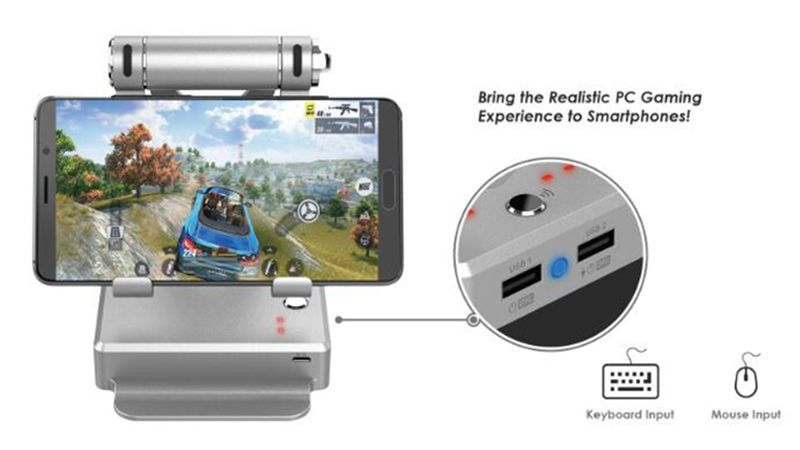 GameSir X1 BattleDock, Sensasi Game FPS ala PC di Smartphone!