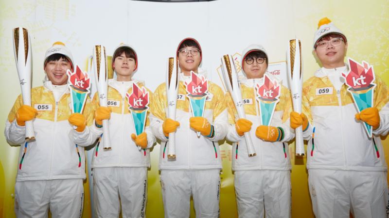 KT Rolster Jadi Pembawa Obor, Rintis Sejarah eSports di Olimpiade