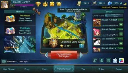 Cara Mendapatkan Diamond Mobile Legend