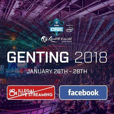 Facebook Watch Kalah Saing, ESL Larang Streaming Ilegal