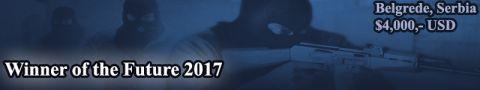Winner of the Future 2017 CS:GO