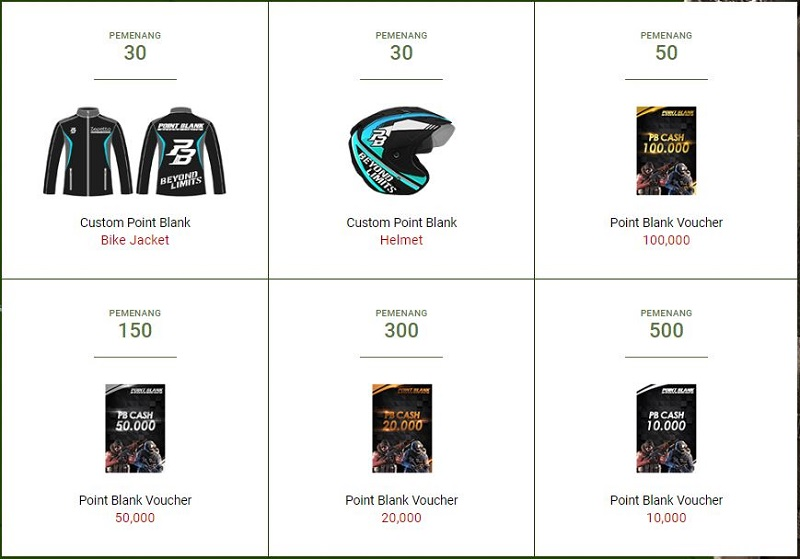 Esports ID | Hadiah Voucher Hingga Motor NMAX Sambut