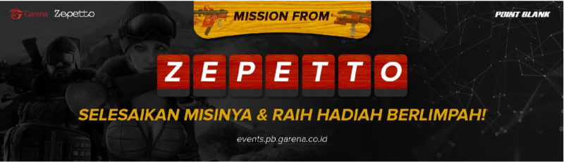 Esports ID | Point Blank Mission: Zepetto, Hadiah Special Troopers